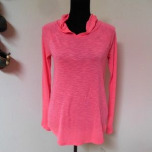 So bright pink Light weight hoodie